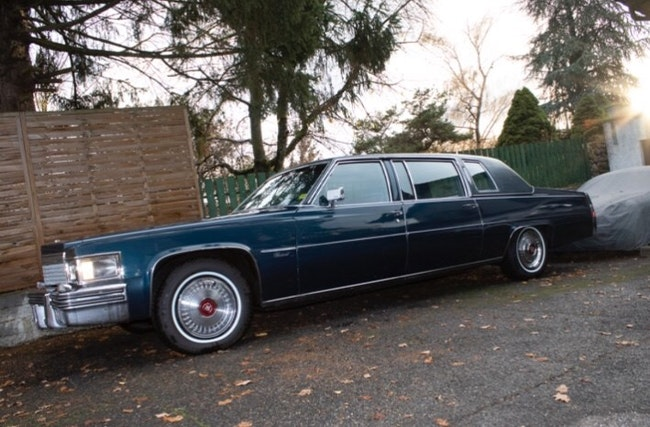 Cadillac Fleetwood Brougham d'élégance limousine 44'225 km CHF24'500 - buy on carforyou.ch - 1