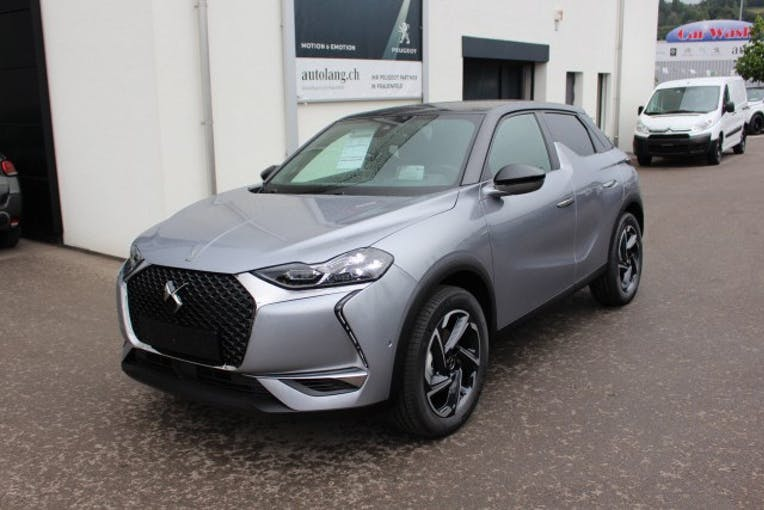 DS Automobiles DS3 Crossback 1.2 PureTech 130 So Chic 10'500 km CHF34'100 - buy on carforyou.ch - 1