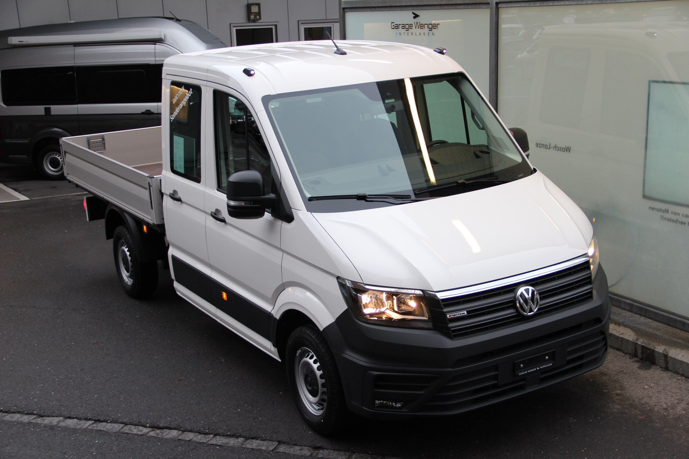 pickup VW Crafter 35 2.0 BiTDI Entry L3 4Motion
