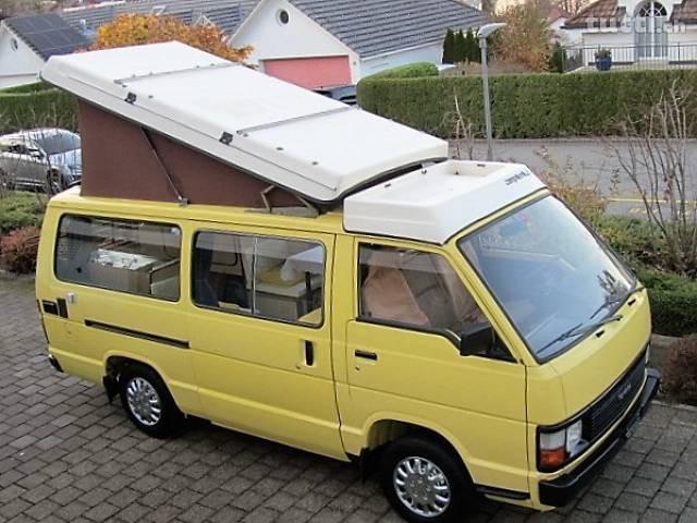 pickup Toyota Hiace Campervan