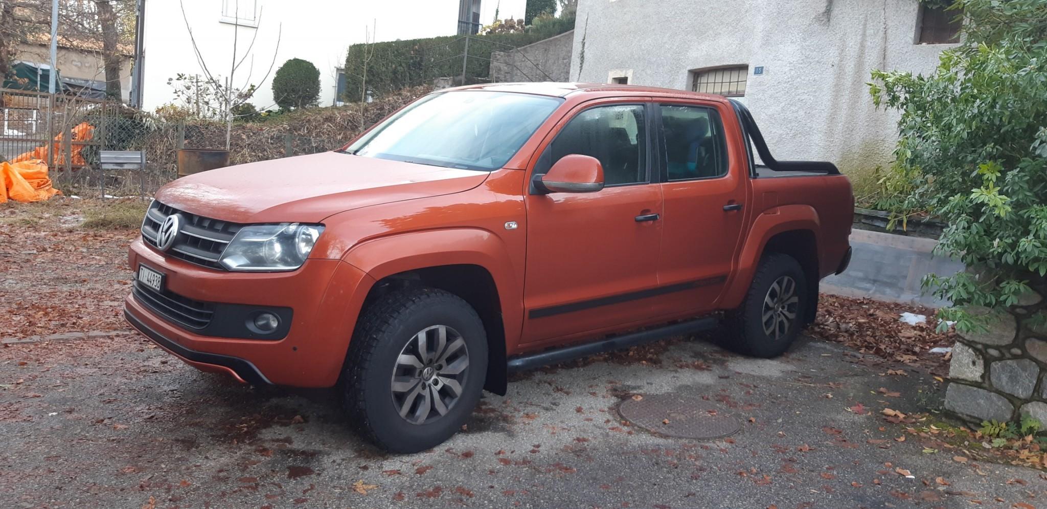 pickup VW Amarok Canyon