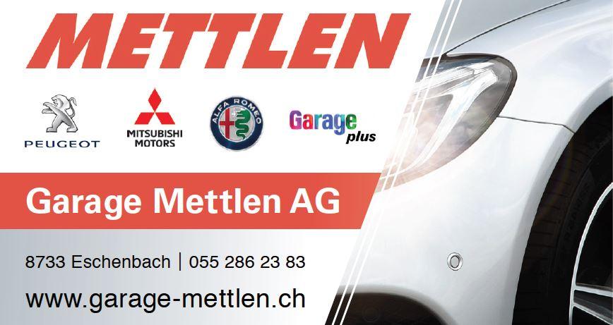 Garage Mettlen AG Eschenbach SG logo