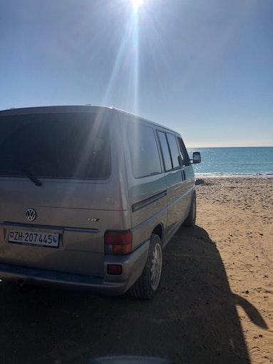 VW T4 Caravelle 2.5TDI ABS 400'000 km 9'000 CHF - kaufen auf carforyou.ch - 1