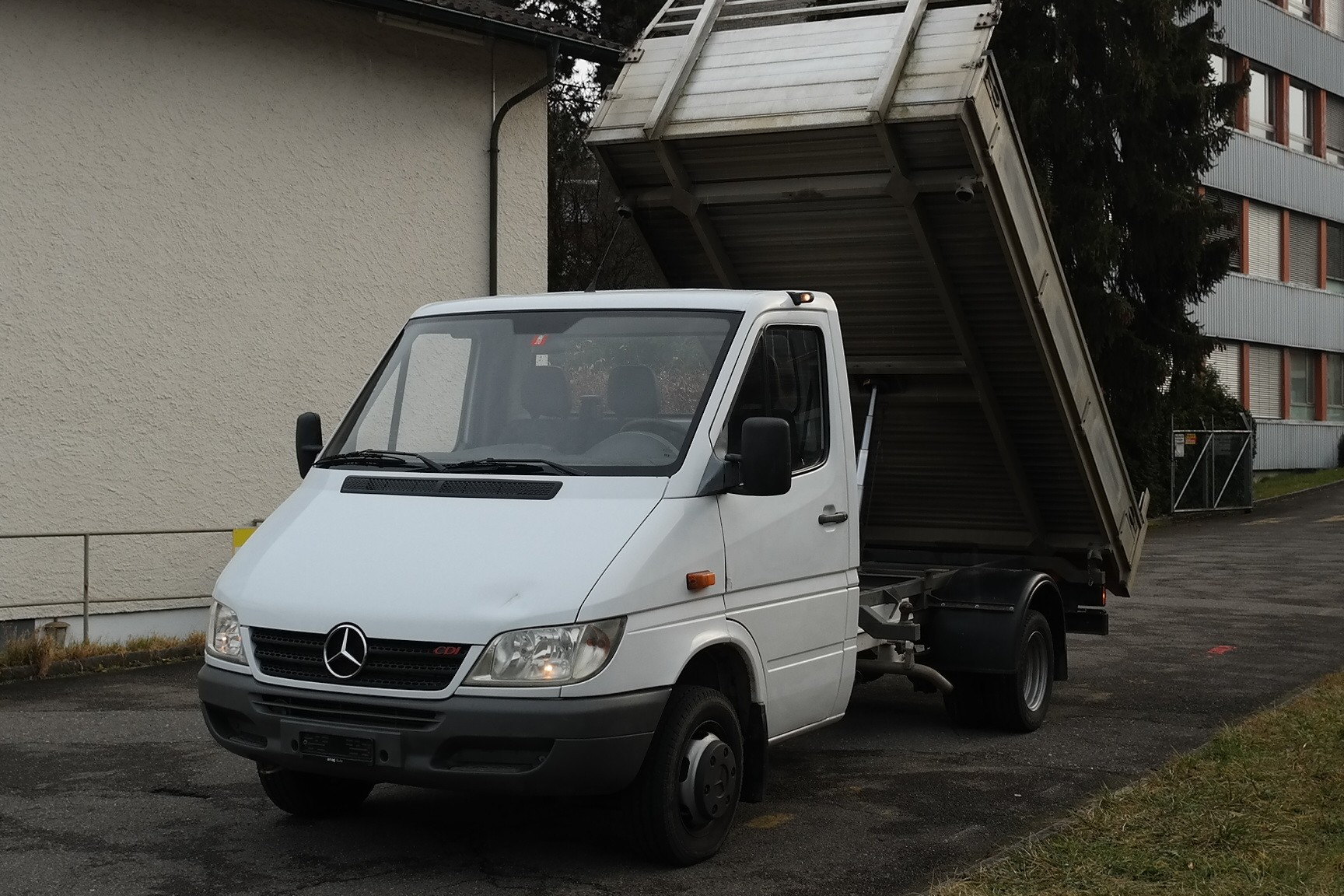 pickup Mercedes-Benz Sprinter 413 CDI KIPPER * 3 SEITENKIPPER