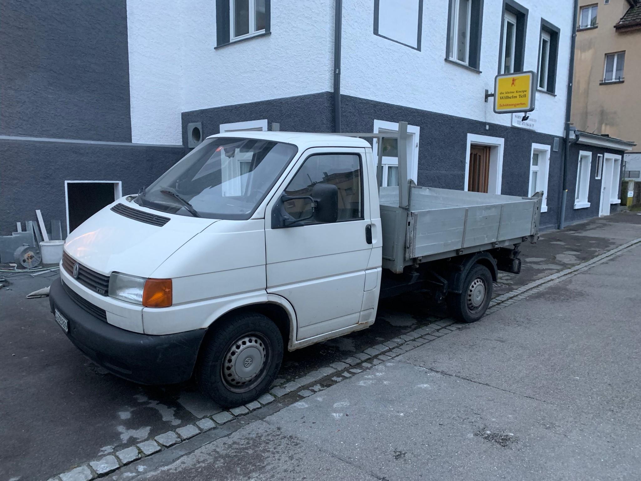 pickup VW T4 Syncro KIPPER / Brücke / Pritsche