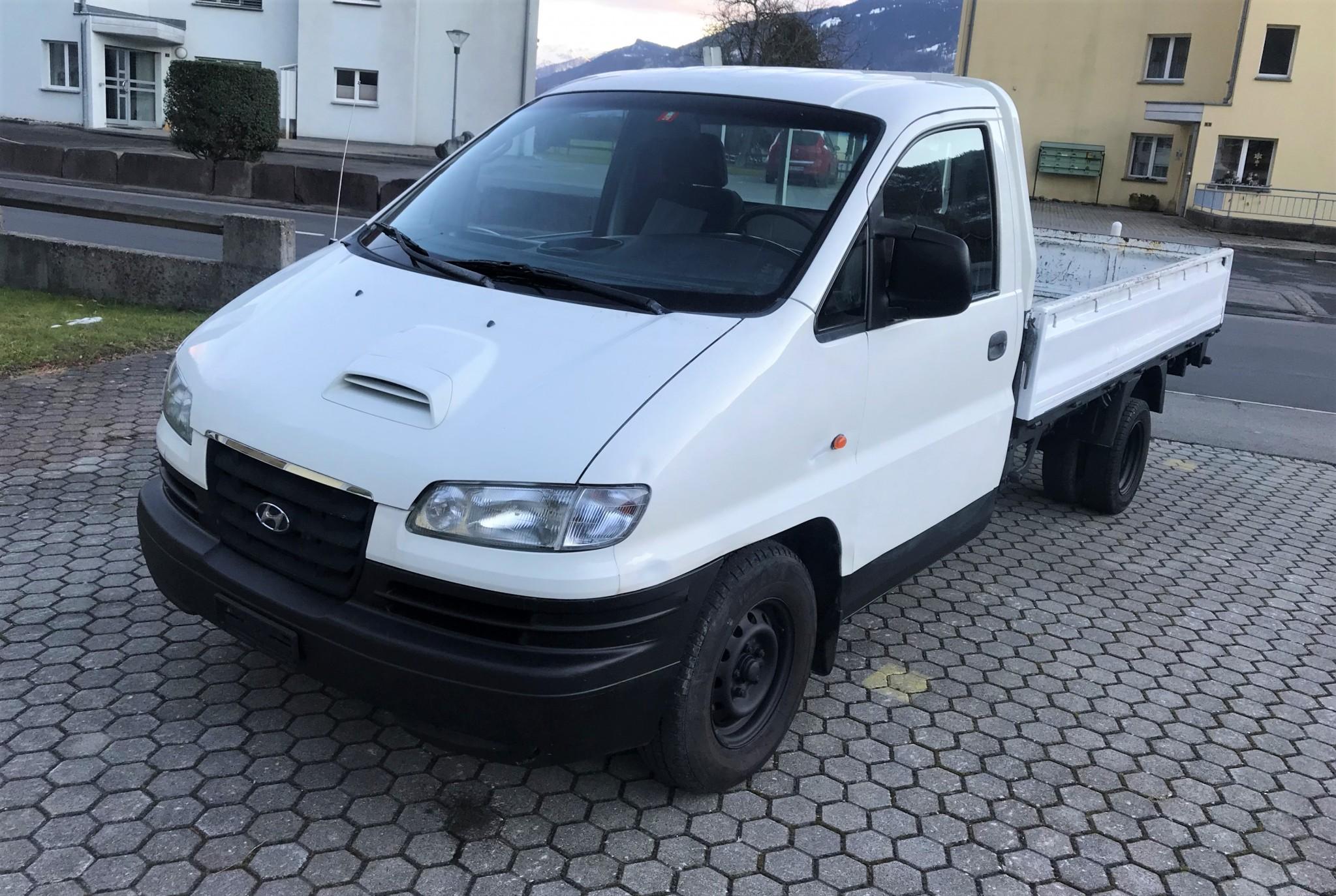 pickup Hyundai H-1 Camionnette 2.5TDI (Pick-up)(Brücke-2 Achs)