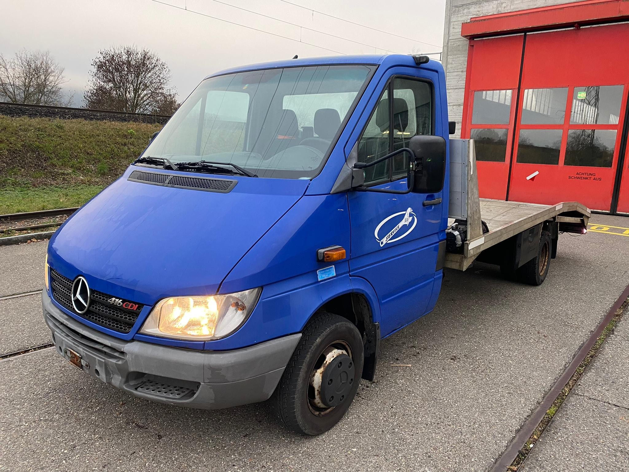 pickup Mercedes-Benz Sprinter Mercedes Sprinter 416 CDI Autotransport 2006