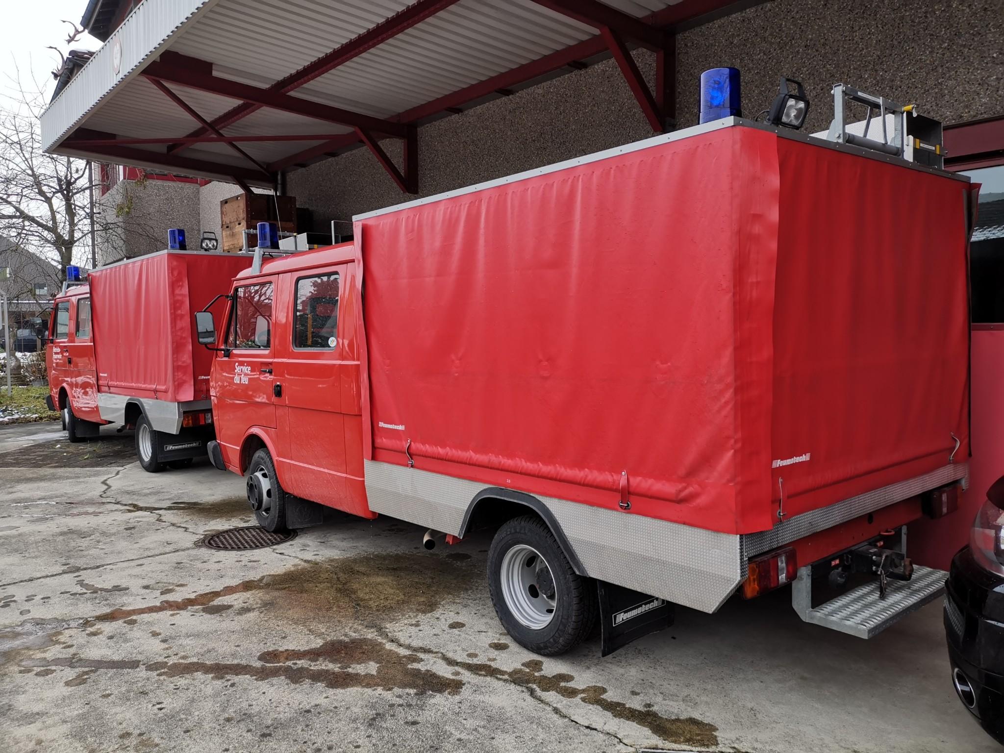 pickup VW LT 35 Feuerwehrfahrzeug Doppelkab. 9700 km