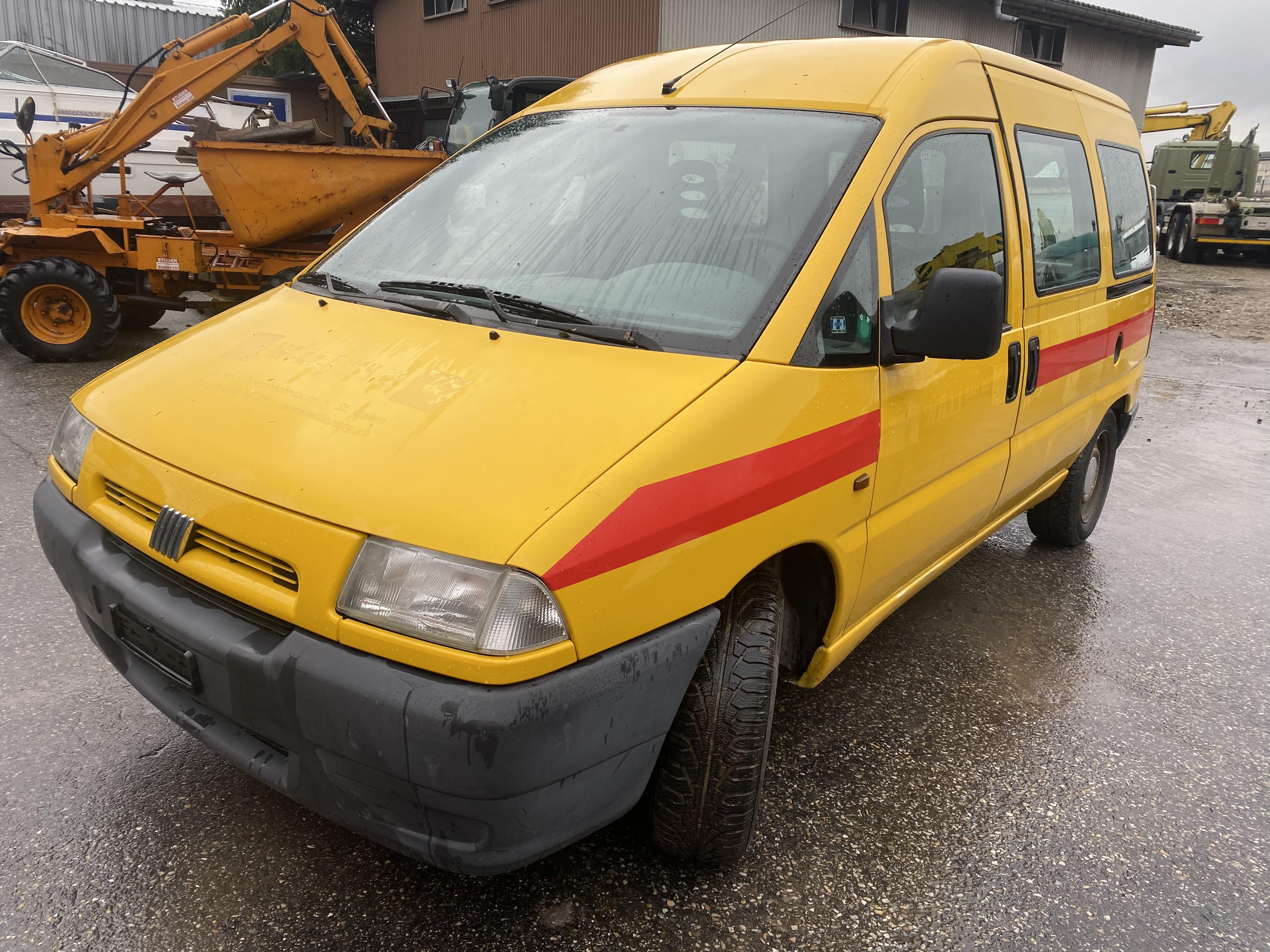 pickup Fiat Scudo EL 900 Kaw. 5 m3 1.9 TD