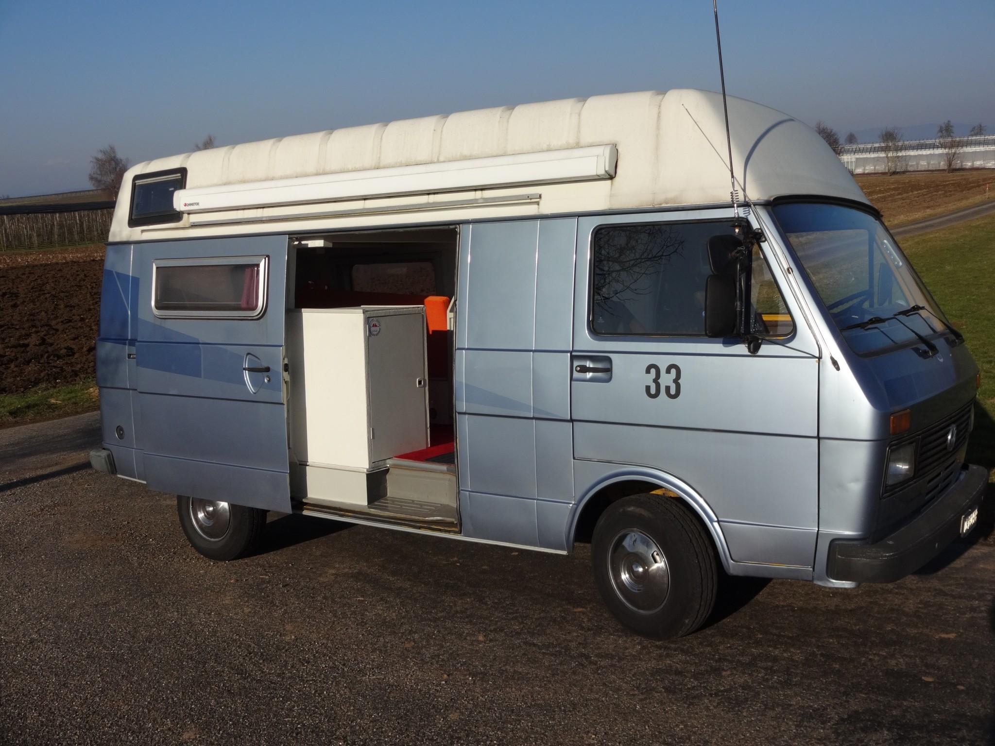 pickup VW LT 31 Jahrgang 86 Wohnmobil Camper