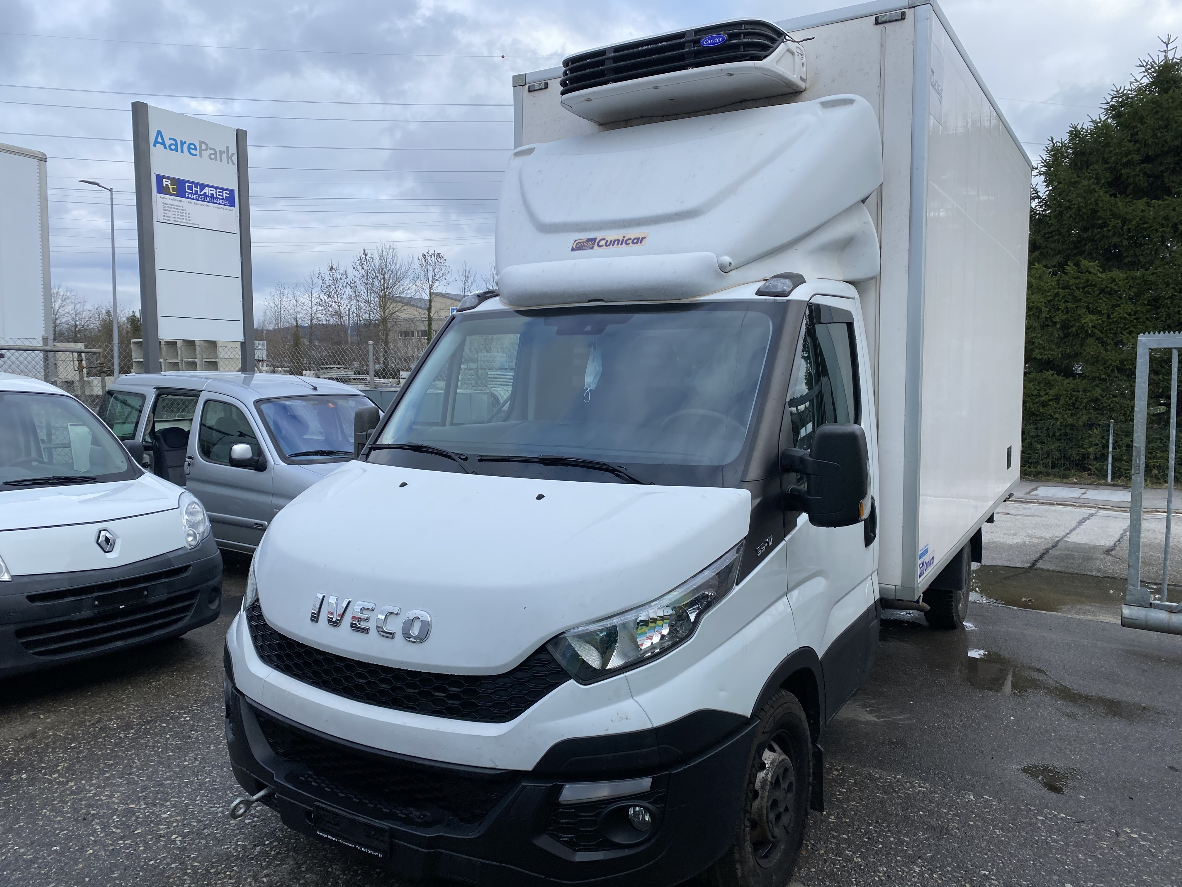 pickup Iveco Daily / Turbo Daily Daily 35 S 17 K.-Ch. 4100 3.0 HPI 170 AGile