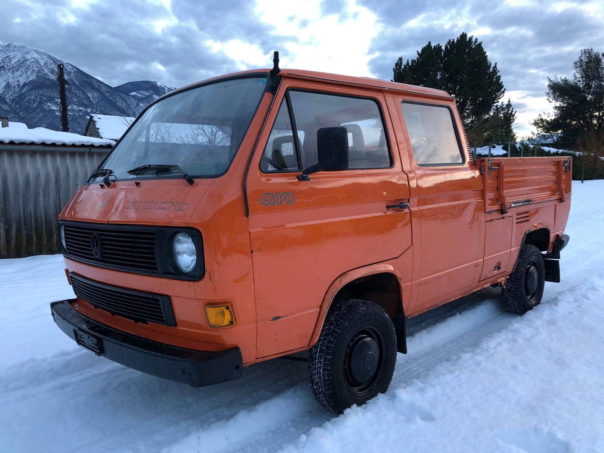 pickup VW Typ 2 , Syncro Doka
