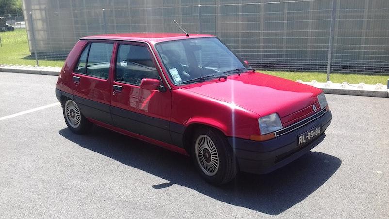 Renault Super 5 GTR 189'000 km 2'900 CHF - acquistare su carforyou.ch - 1