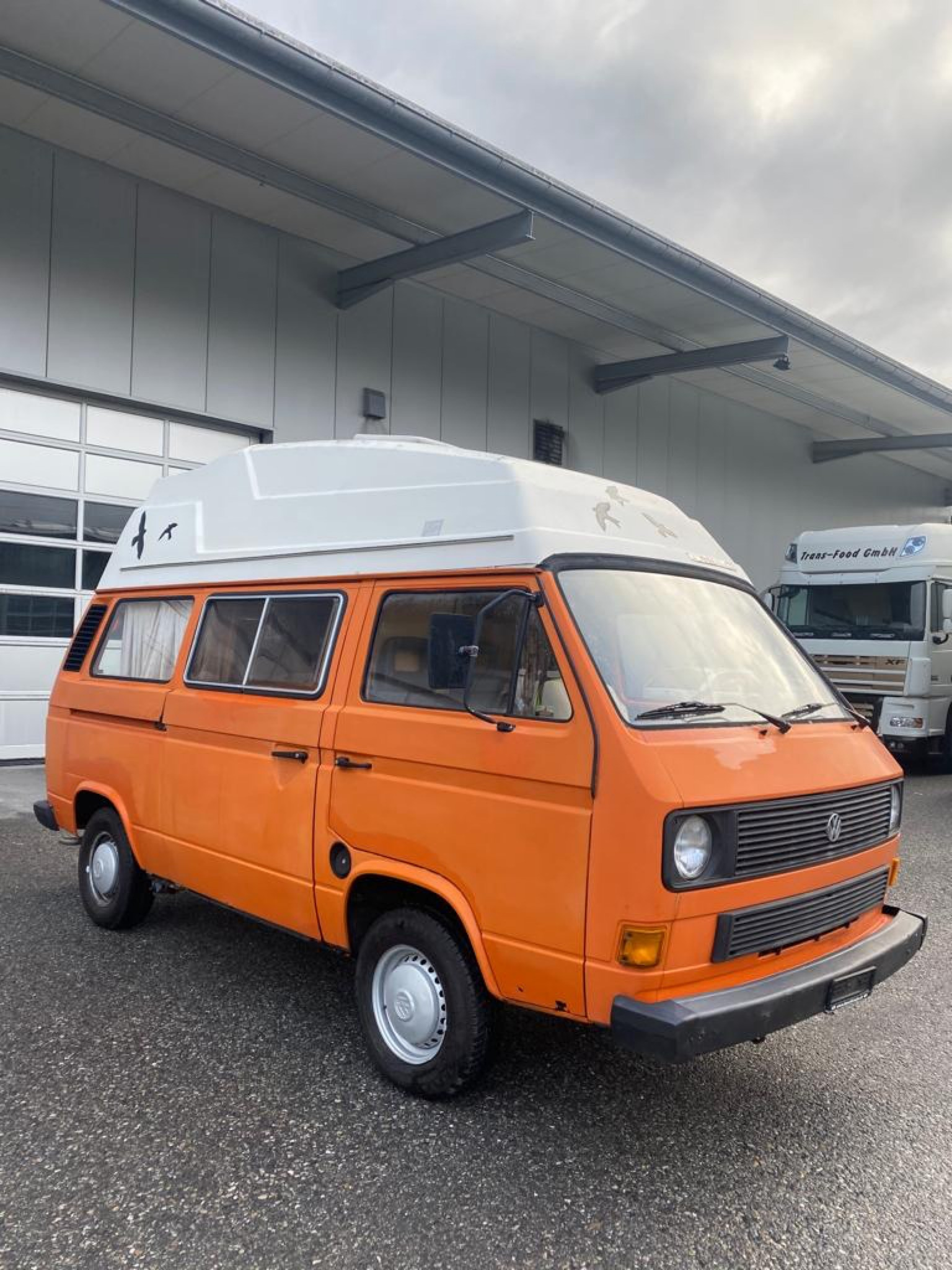 pickup VW Typ 2 BUS T3 Westfalia Camper