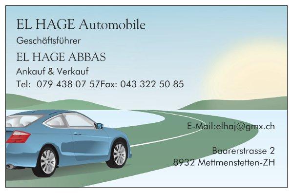 EL HAGE Automobile logo