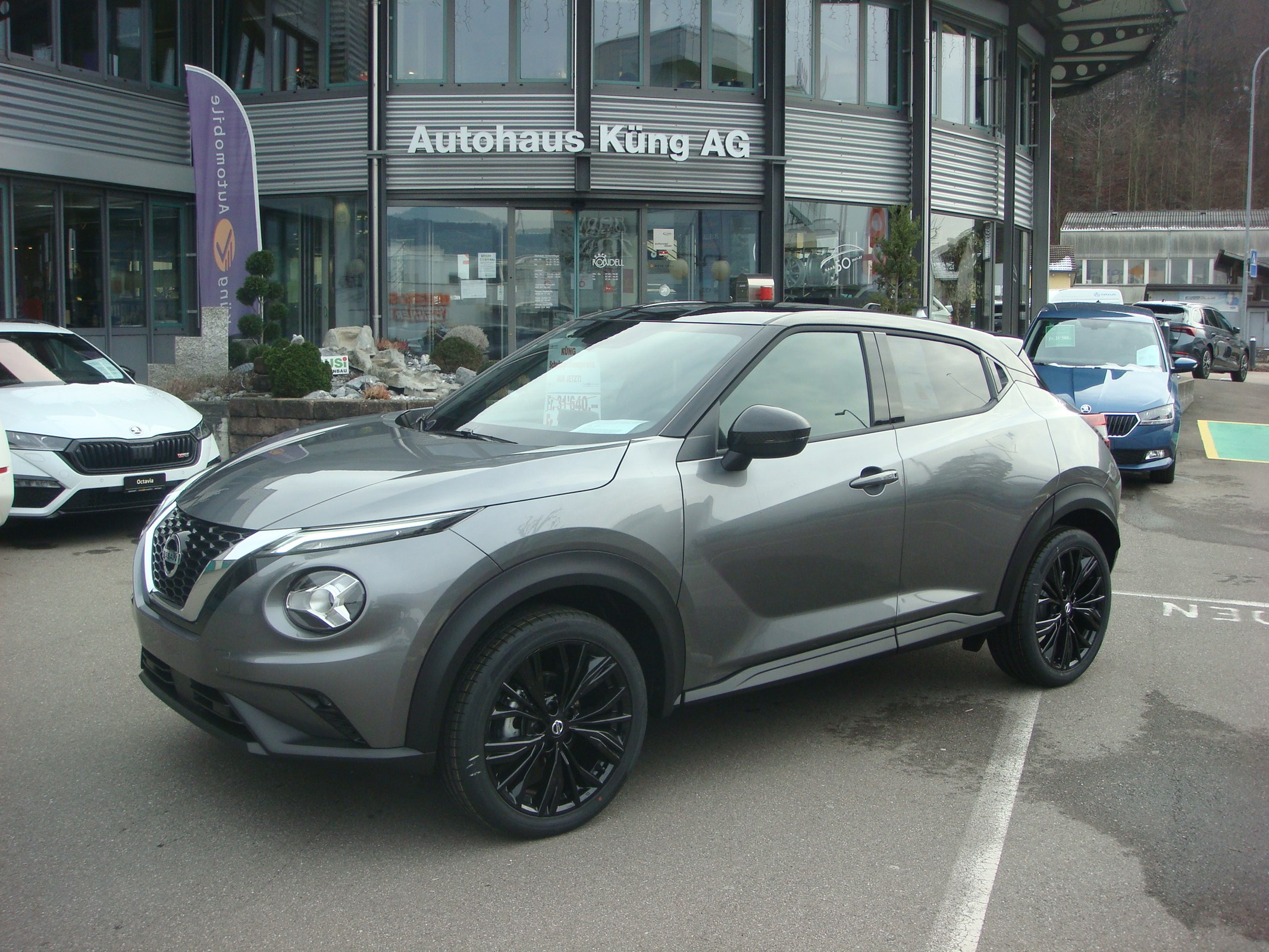 suv Nissan Juke 1.0 DIG-T Enigma DCT (Sondermodell)