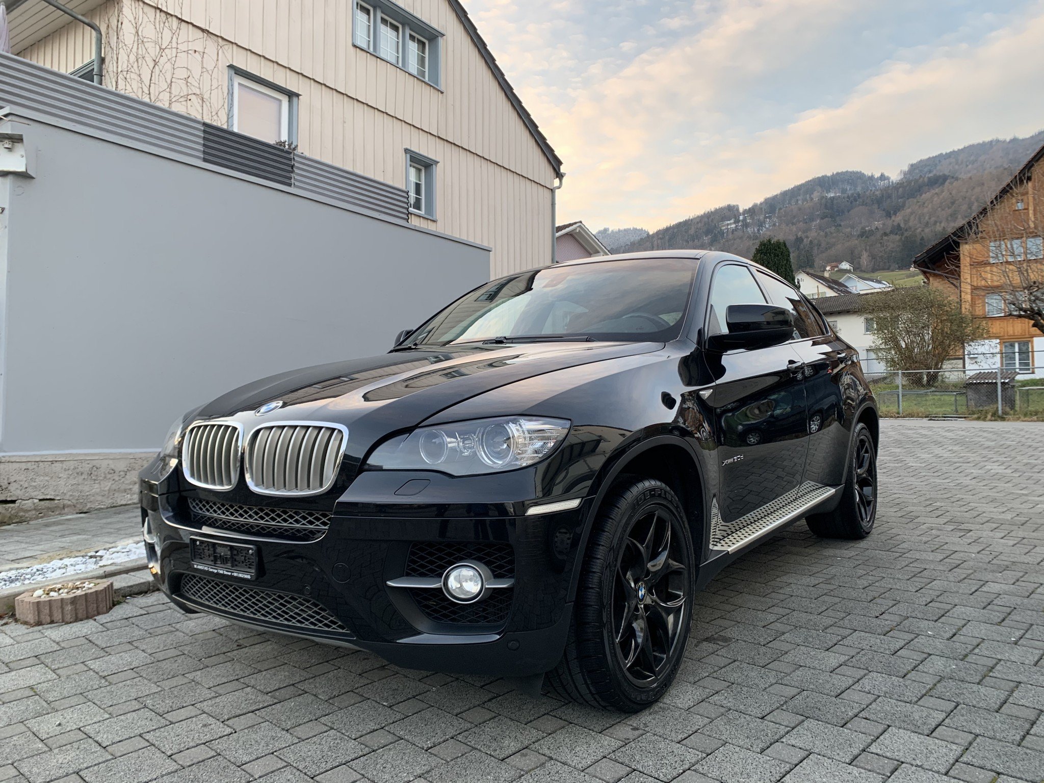 suv BMW X6 E71 xDrive 30d