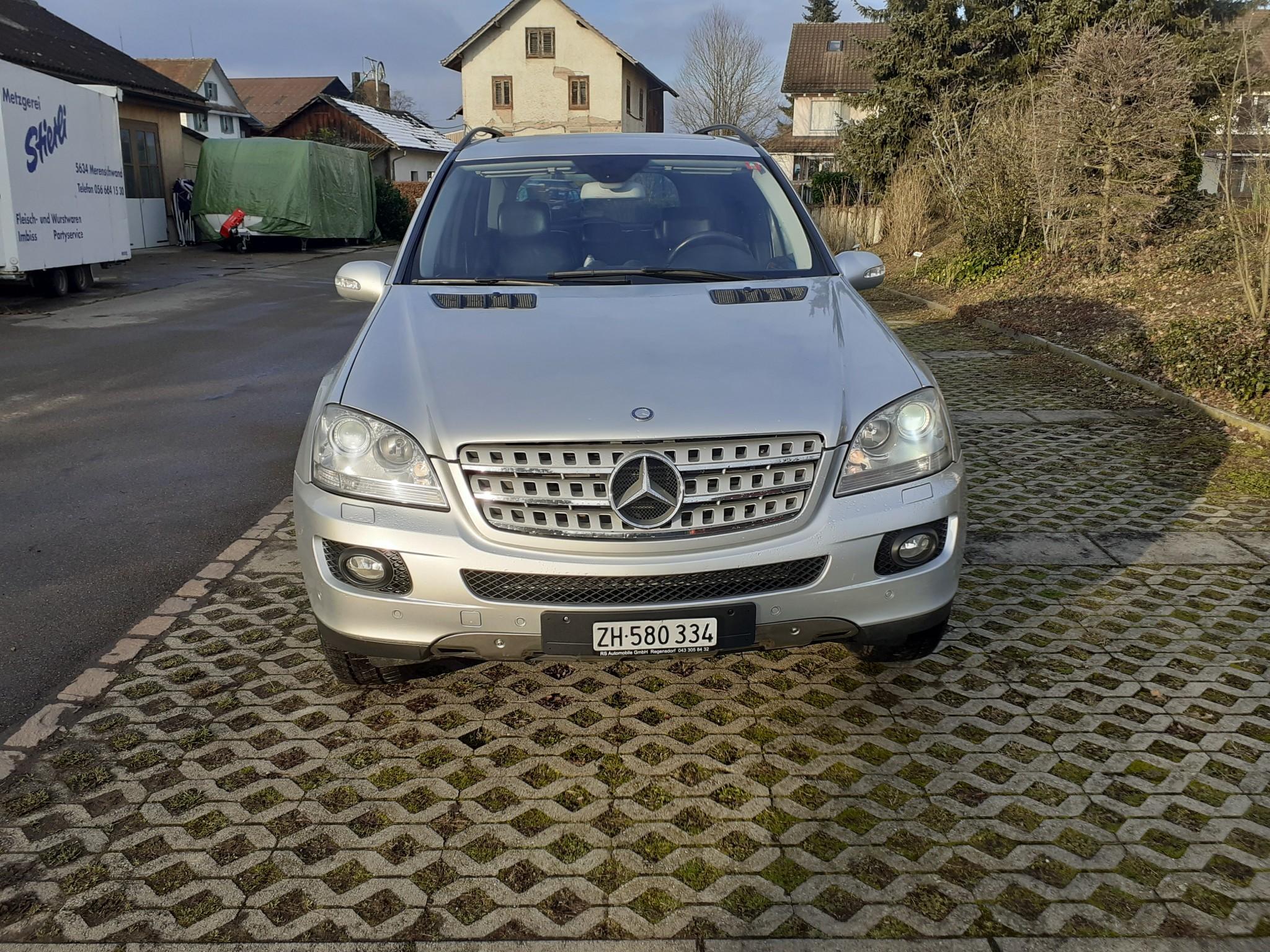 suv Mercedes-Benz M-Klasse Mercedes ML 320 CDI, mit frisch MFK