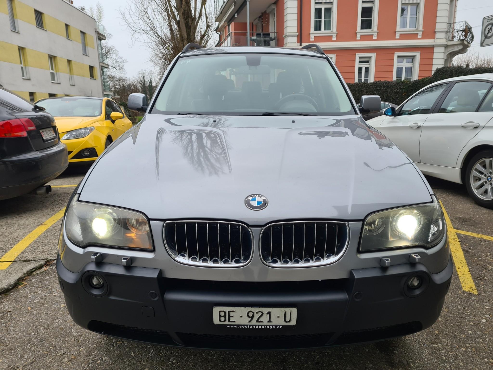 suv BMW X3 . 3.0 d année 2006 237000km expertisée 11.2019