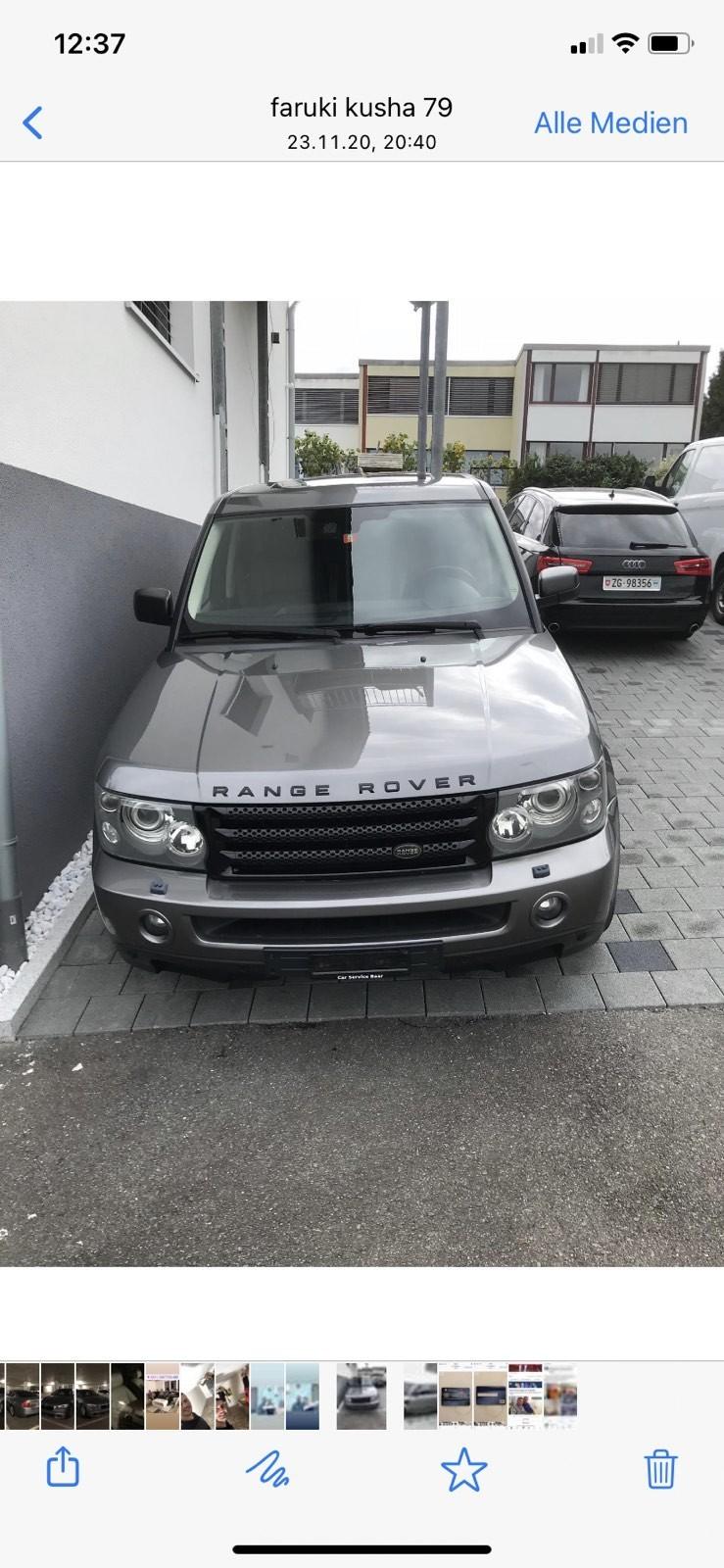 suv Land Rover Range Rover S TD6