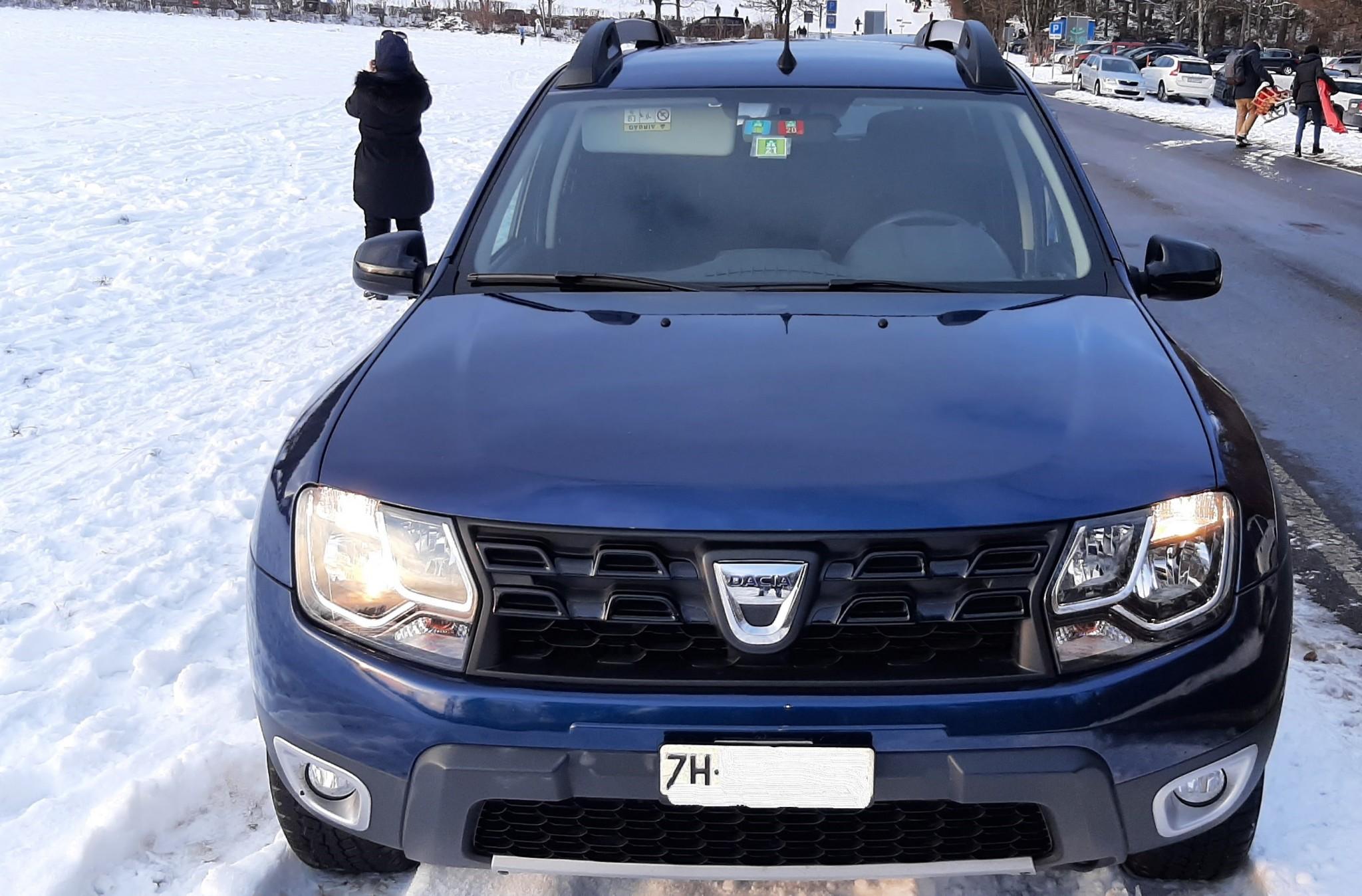 suv Dacia Duster Aktuelles Winterfahrzeug mit Standheizung, 8fach bereift!