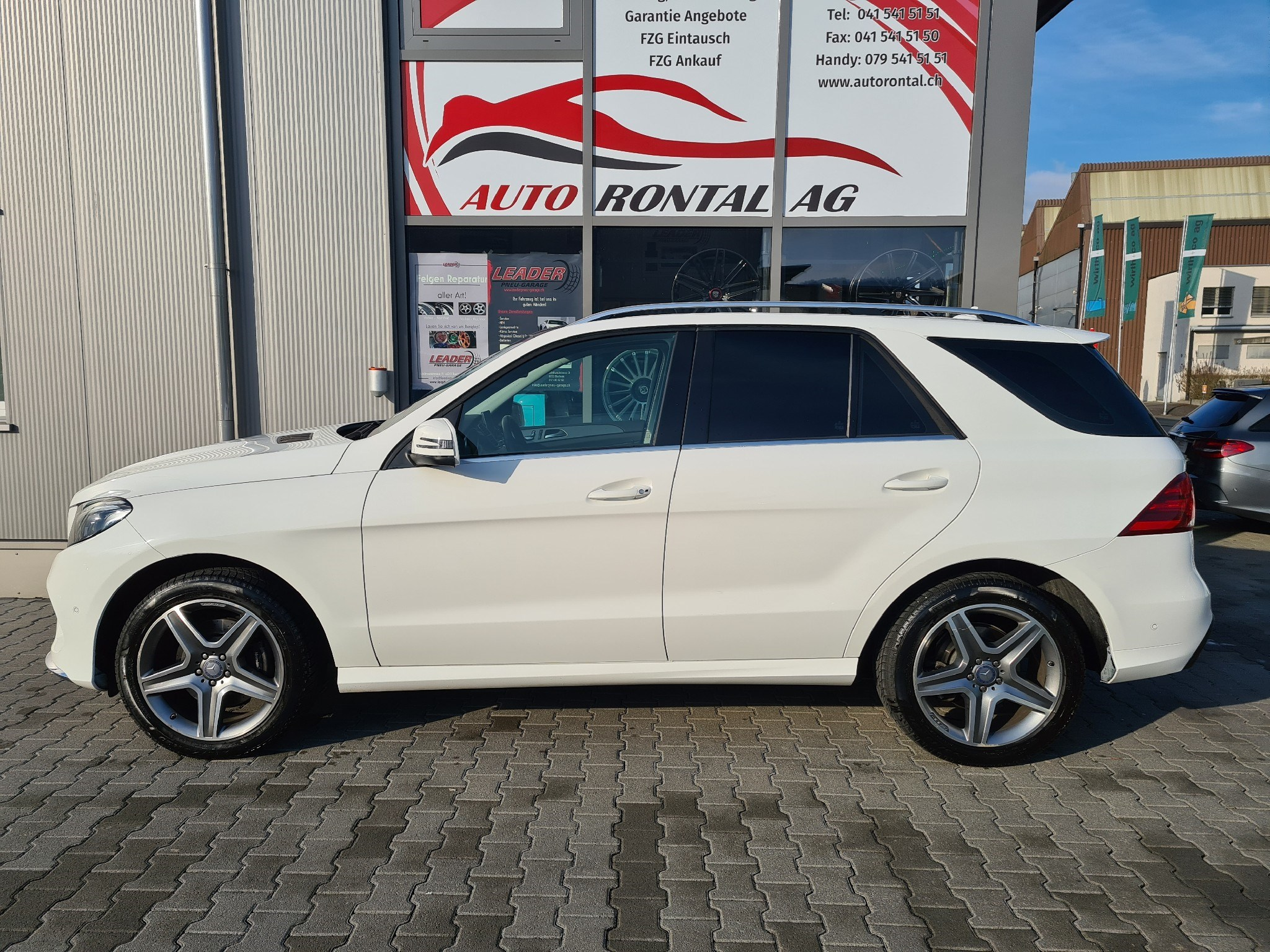 suv Mercedes-Benz GLE-Klasse GLE 350 d AMG-Line Executive 4Matic 9G-Tronic