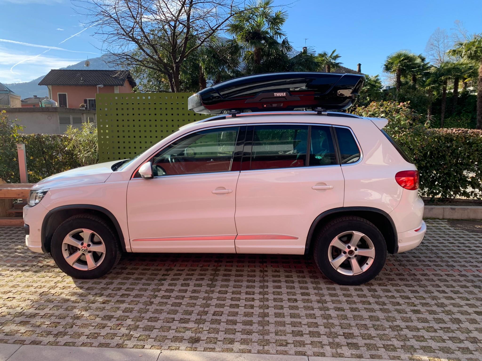 suv VW Tiguan WV Tiguan Rline 2015