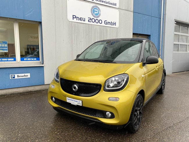 saloon Smart Forfour passion twinmatic
