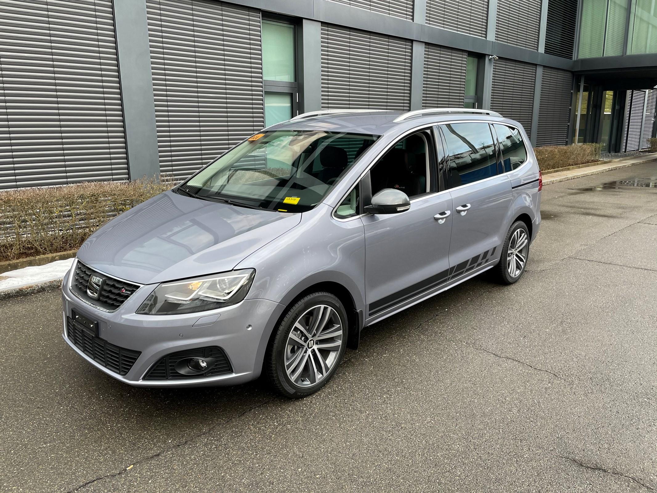 van SEAT Alhambra 2.0 TDI 4Drive SWISS FR