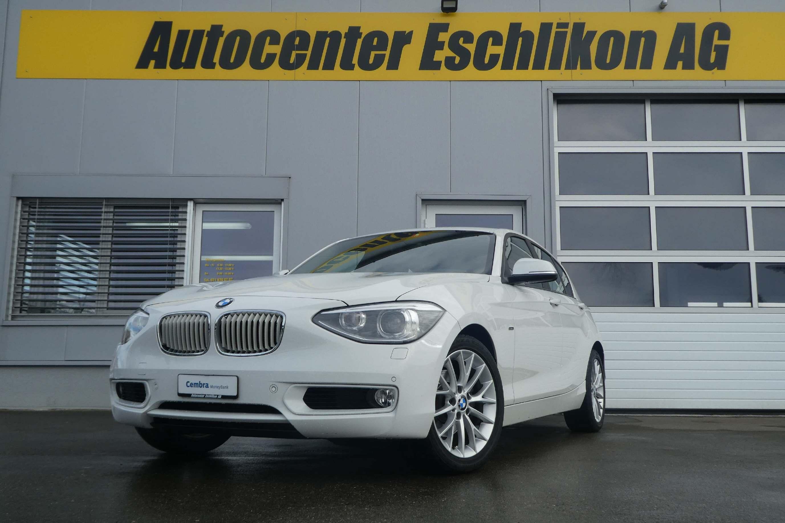 saloon BMW 1er Reihe F20 118i