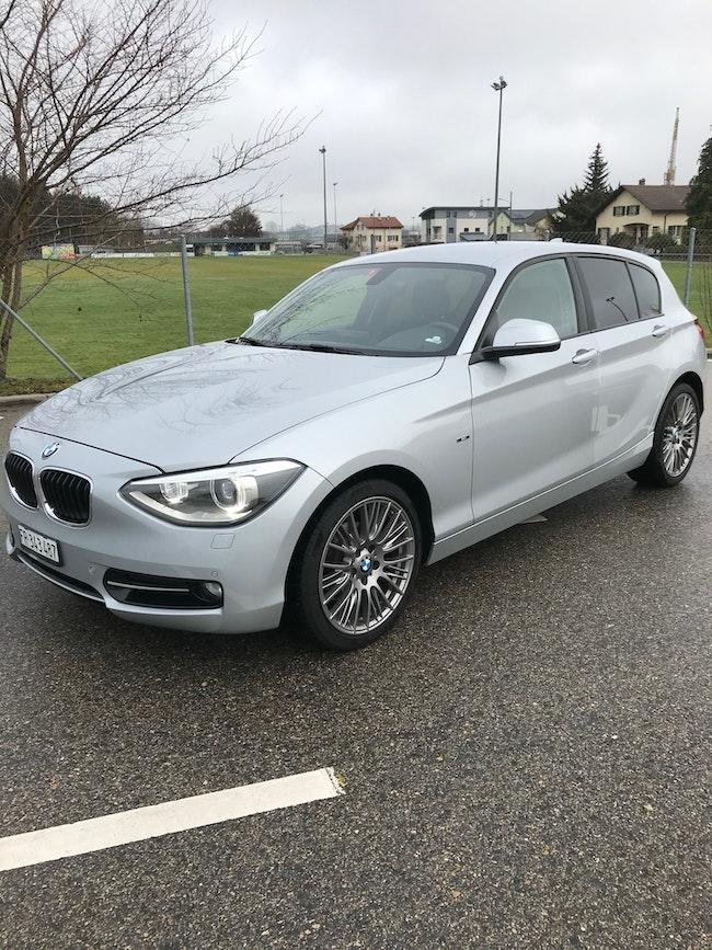 saloon BMW 1er 118d Sport Line
