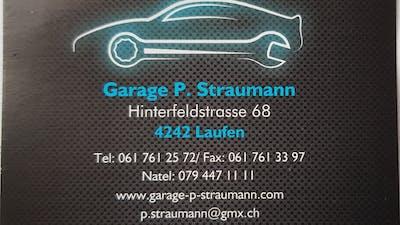 Garage P. Straumann logo