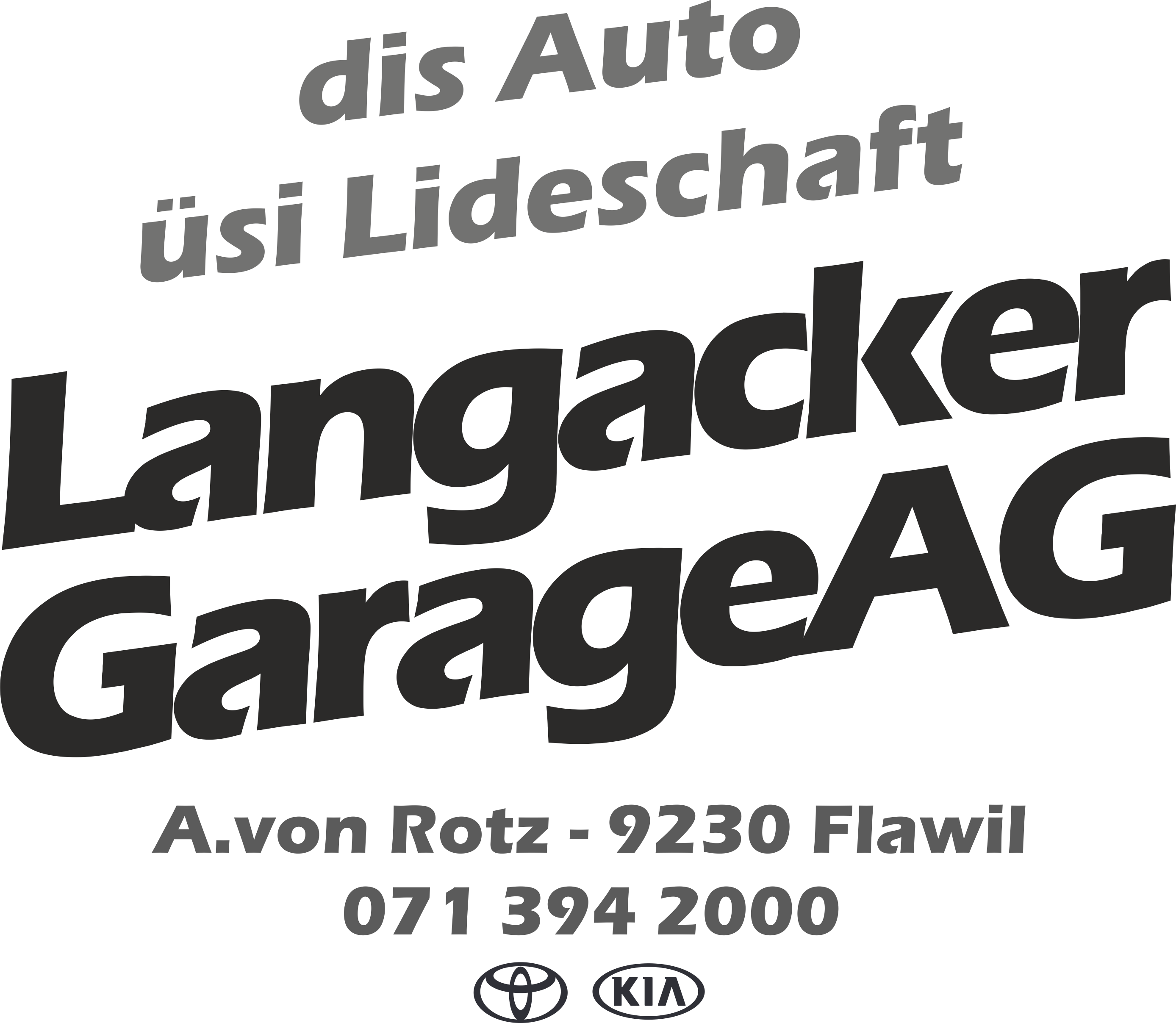 Langacker Garage AG logo