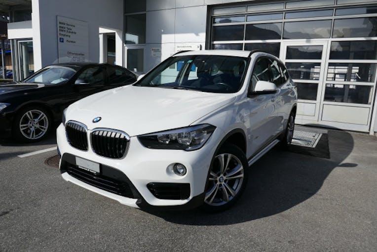 BMW X1 xDrive 18d Sport Line 37'300 km CHF27'800 - buy on carforyou.ch - 1