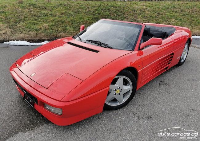 Ferrari 348 Spyder 62'000 km CHF64'800 - kaufen auf carforyou.ch - 1
