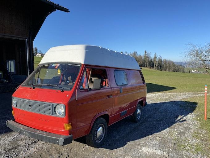 VW Typ 2 T3 Camper voll ausgestattet 20'000 km 22'000 CHF - buy on carforyou.ch - 1