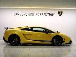 Lamborghini Gallardo LP570-4 Coupé Superleggera Ed. Tecnica E-Gear 400 km 208'500 CHF - buy on carforyou.ch - 2