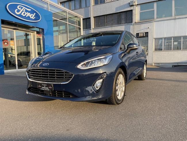 saloon Ford Fiesta 1.5 TDCi Titanium
