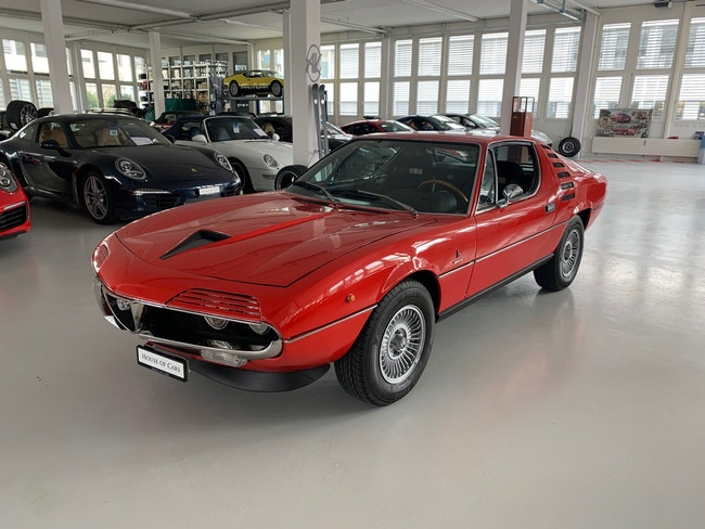 Alfa Romeo Montreal MONTREAL 78'700 km 76'000 CHF - acheter sur carforyou.ch - 1