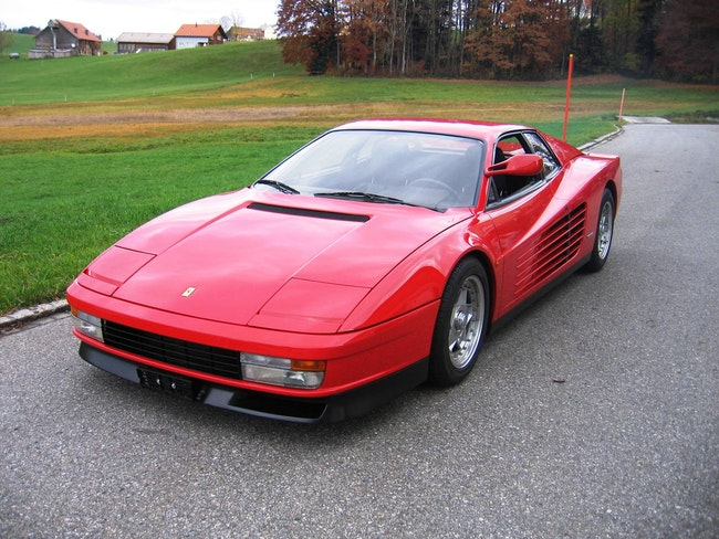 Ferrari Testarossa TESTAR./512 Monospecchio & Monodado 27'050 km CHF210'000 - acheter sur carforyou.ch - 1