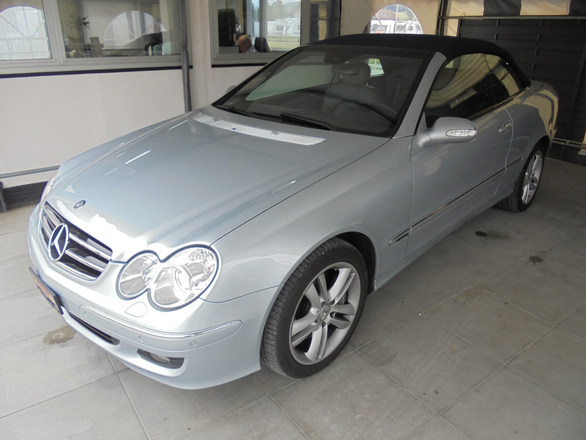 Gebraucht Cabriolet Mercedes Benz Clk 350 Avantgarde 7g Tronic 112900 Km Für 12900 Chf Kaufen Auf Carforyou Ch