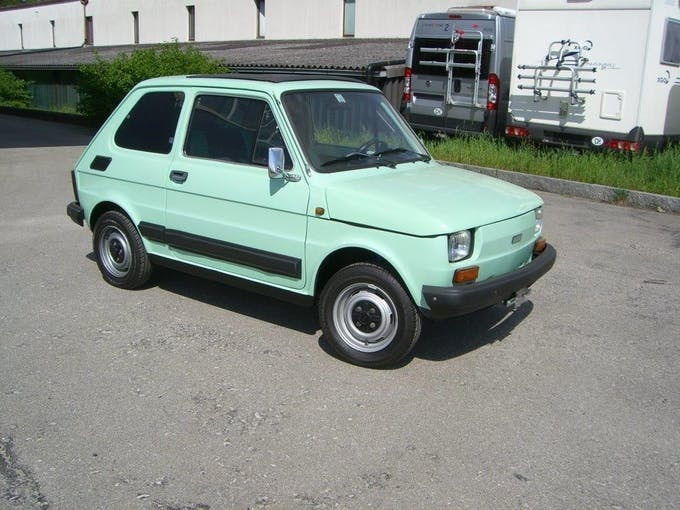 Fiat 126 Bambino TO 83'000 km CHF7'500 - buy on carforyou.ch - 1