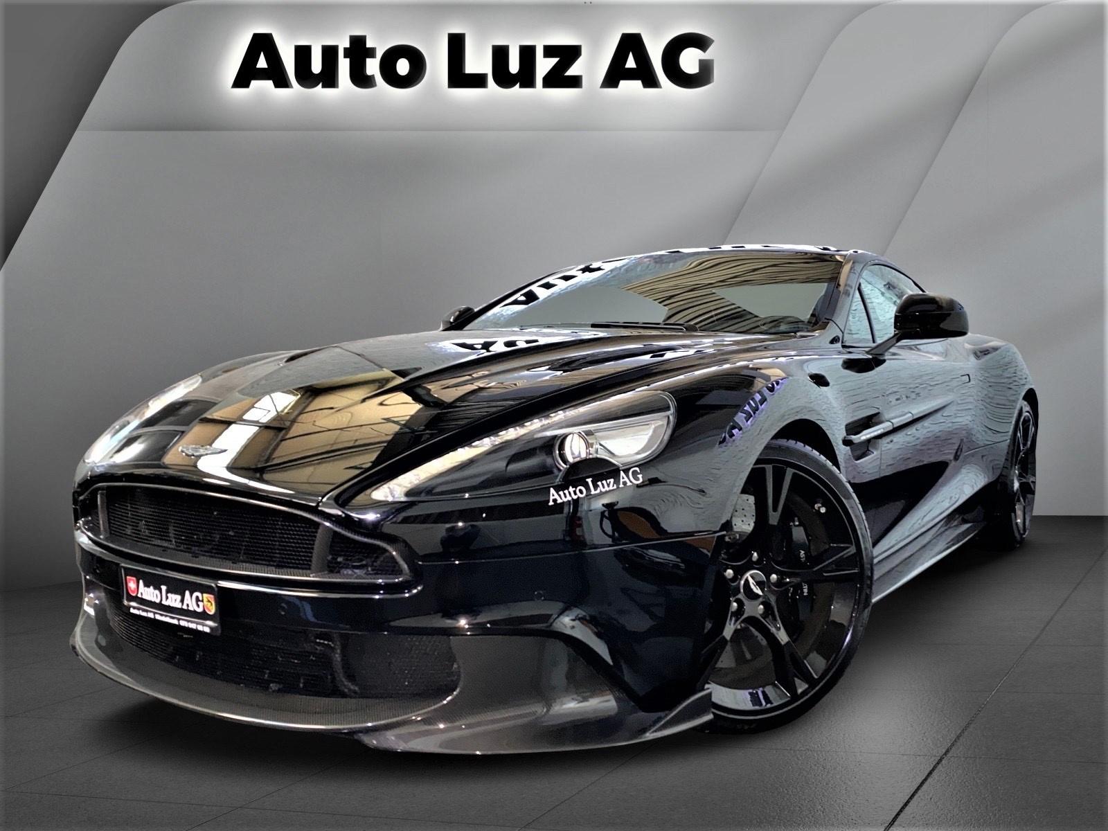 Gebraucht Sportwagen Aston Martin Vanquish V12 Vanquish Vanquish S Ultimate V12 Touchtronic 3 7250 Km Für 219000 Chf Kaufen Auf Carforyou Ch