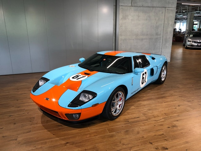 Ford GT 5.4 V8 ´´Heritage Edition´´ 17'000 km CHF650'000 - buy on carforyou.ch - 1