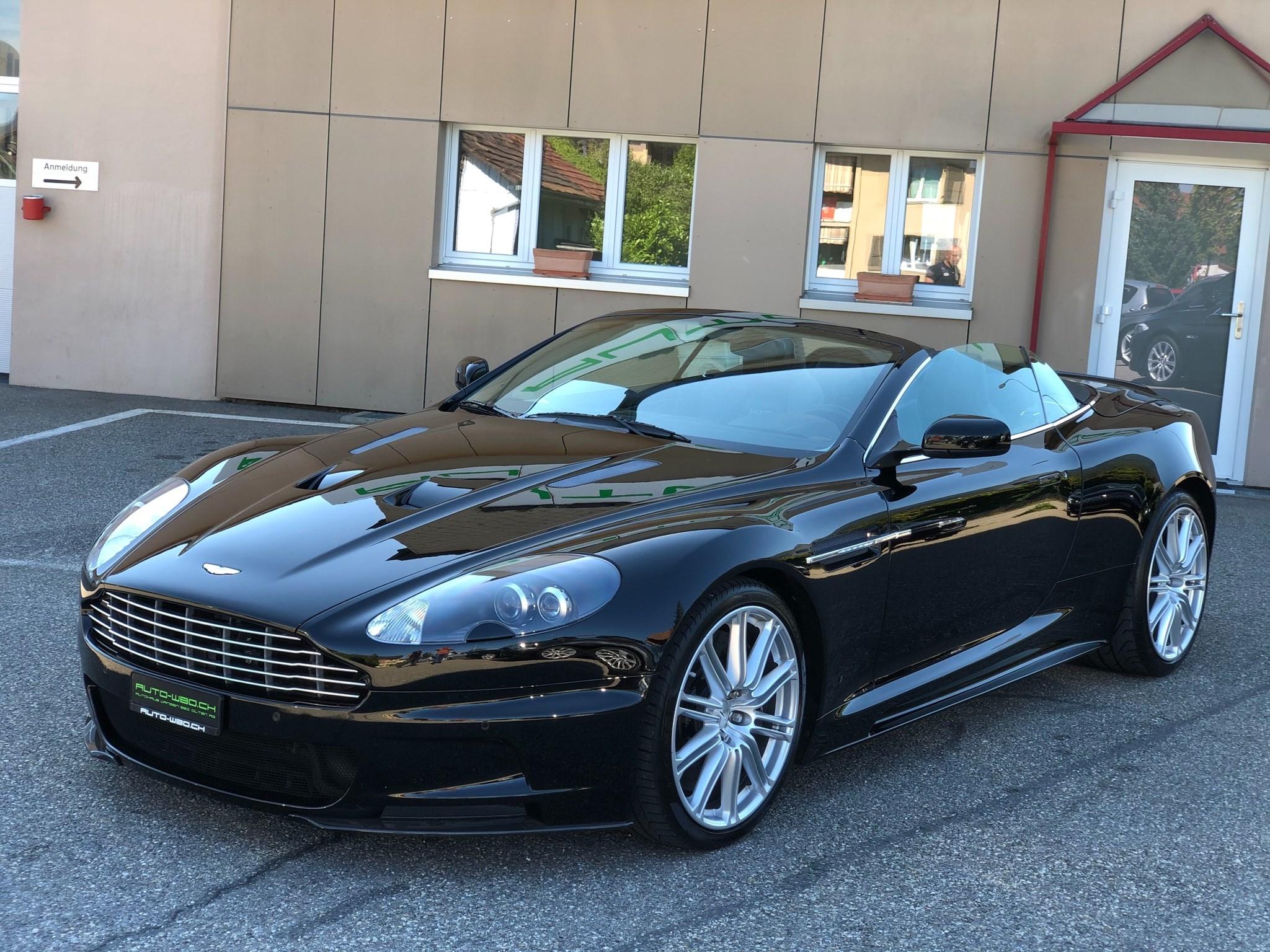 Aston Martin Db9 Dbs Dbs Volante Touchtronic 2 I 517 Ps I 30000 Km Für 109850 Chf Kaufen Auf Carforyou Ch