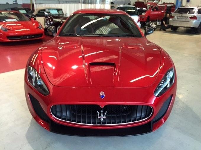 Maserati GranCabrio/Granturismo GranTurismo MC Stradale Centenario Ed. Cambioc. 2'500 km CHF159'000 - kaufen auf carforyou.ch - 1