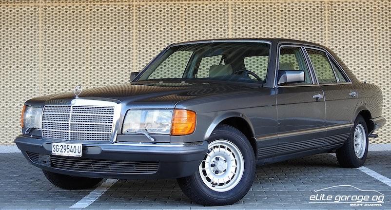 Mercedes-Benz 380 SE 90'500 km CHF14'800 - kaufen auf carforyou.ch - 1
