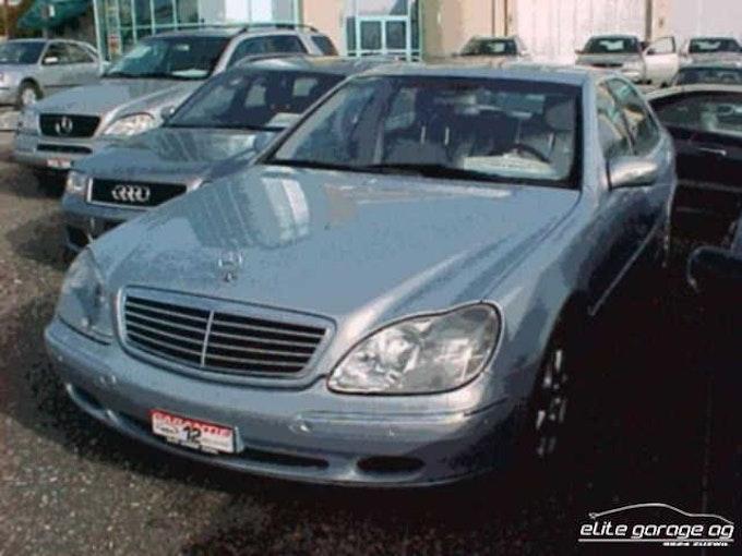 Mercedes-Benz S-Klasse S 500 L 32'700 km CHF14'800 - buy on carforyou.ch - 1