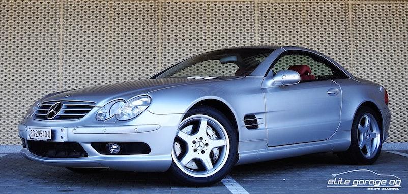 cabriolet Mercedes-Benz SL 55 AMG
