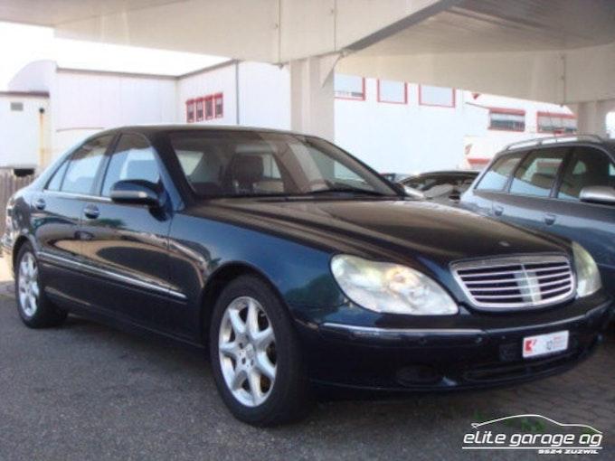 Mercedes-Benz S-Klasse S 500 112'800 km CHF9'800 - buy on carforyou.ch - 1